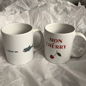 Literal Love Play on Words Coffee Cups! Brand-new!